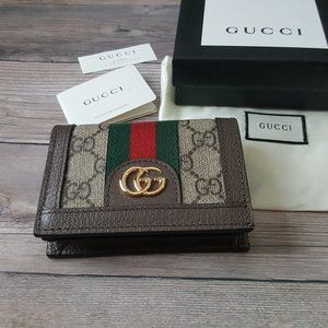 Authentic Gucci Ophidia GG Leather Wallet